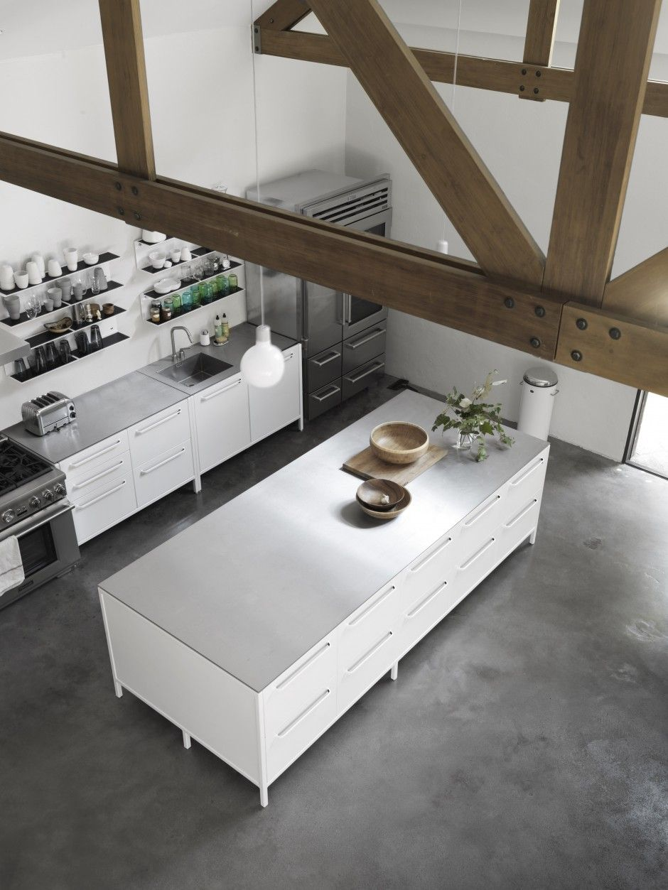 gorgeous white Vipp kitchen Est Living @estemag #estliving #estdesigndirectory