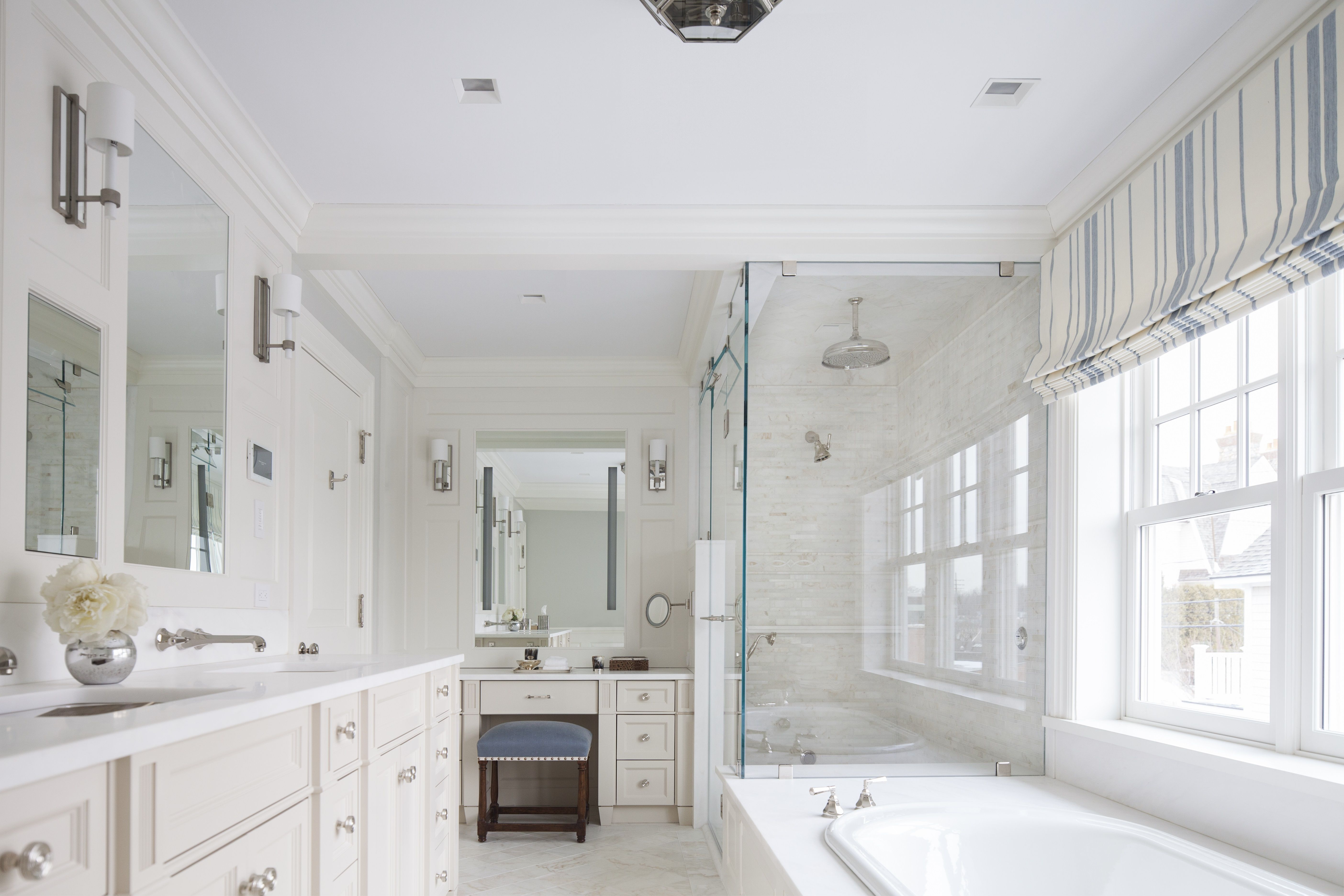 Marvelous Greenwich, CT Pied A Terre Bathroom Design By S.B. Long Interiors