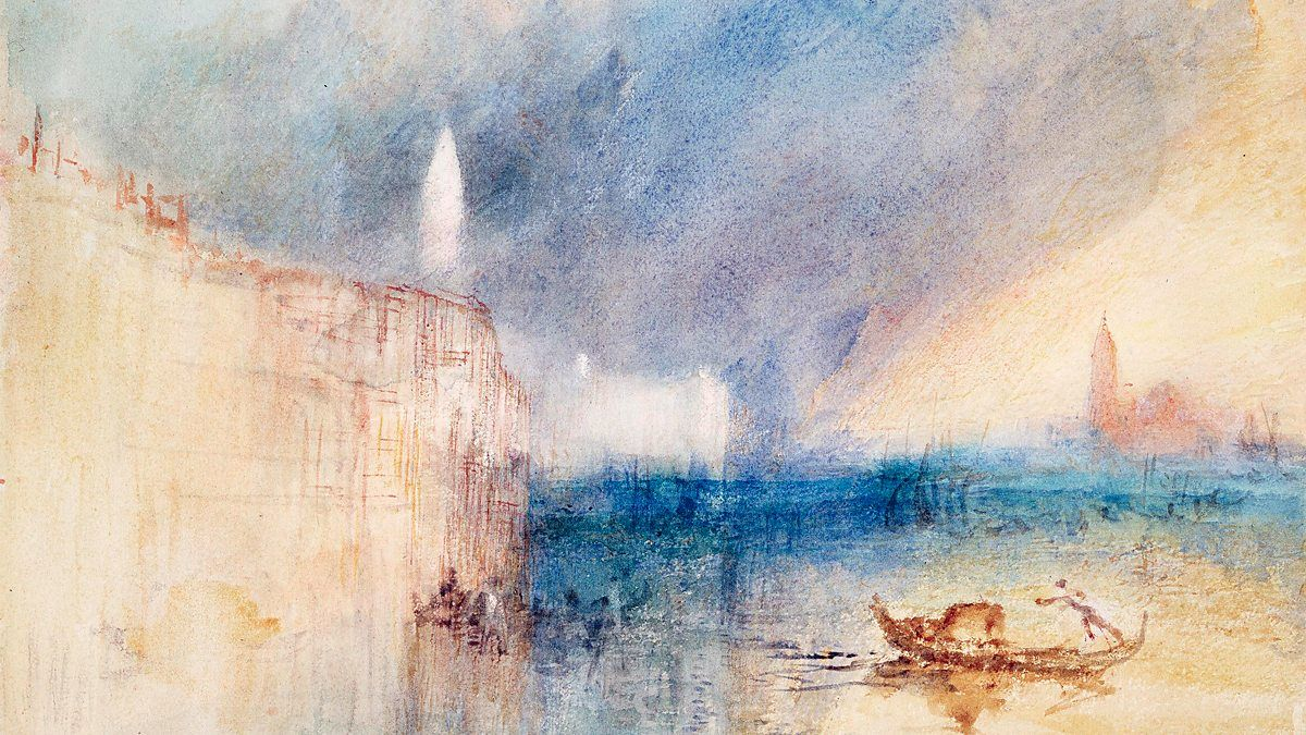 Arts Northern Light Turner Watercolours In Midwinter Turner
