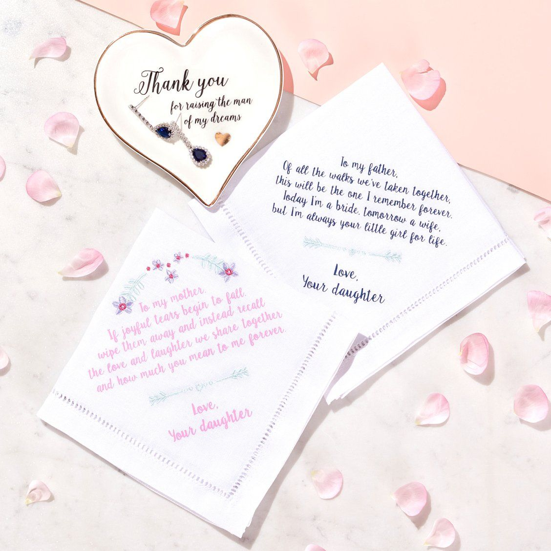 How To Thank Your Parents On Your Wedding Day Sweet Parent Gifts