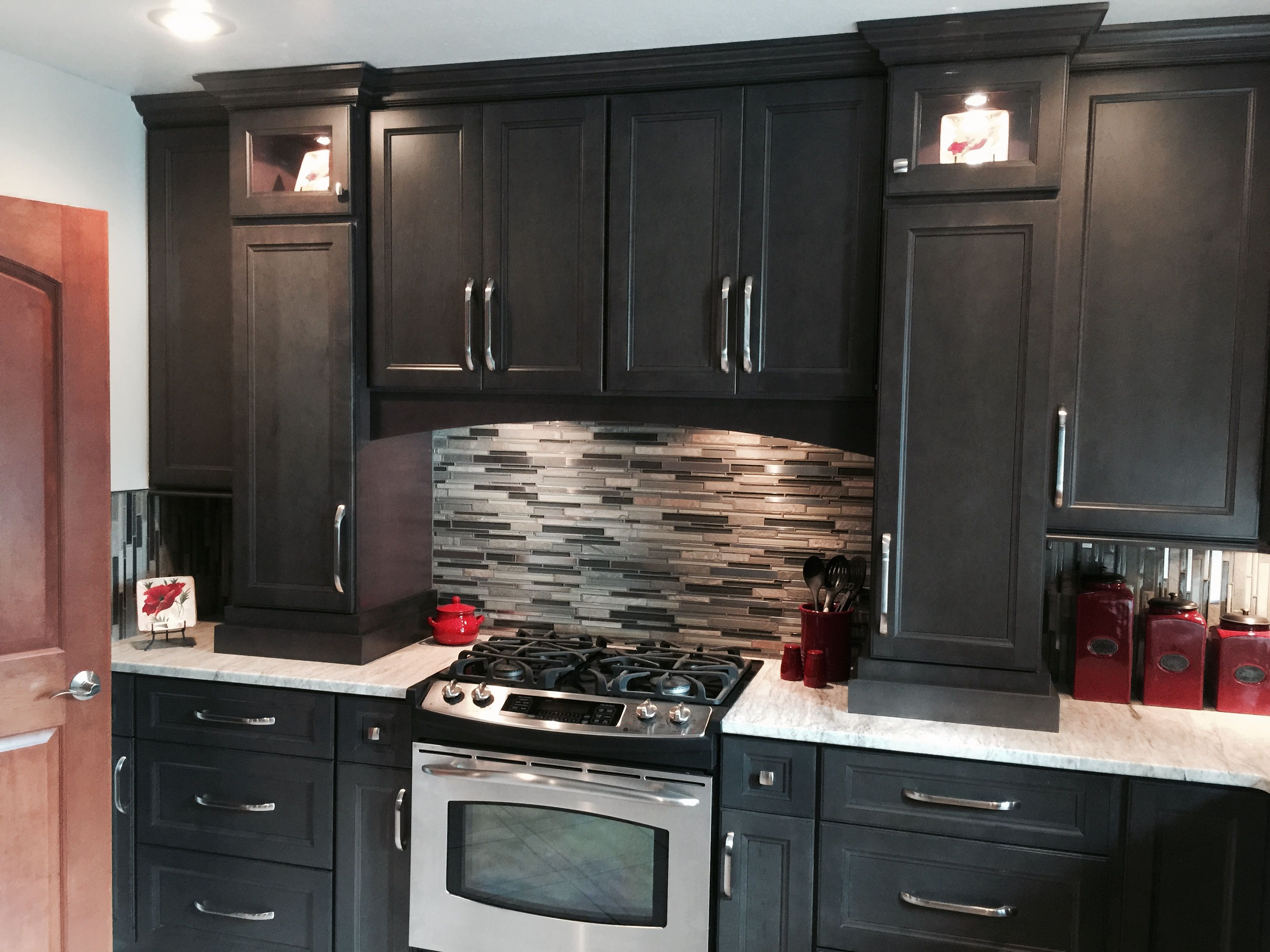 West Point Grey Kitchen Kitchen Cabinets Cabinetry Design Stained Kitchen Cabinets