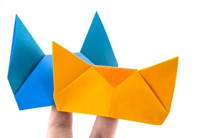 Photo of Wie man Origami Tierfingerpuppen macht – Faltanleitung – Origami Guide
