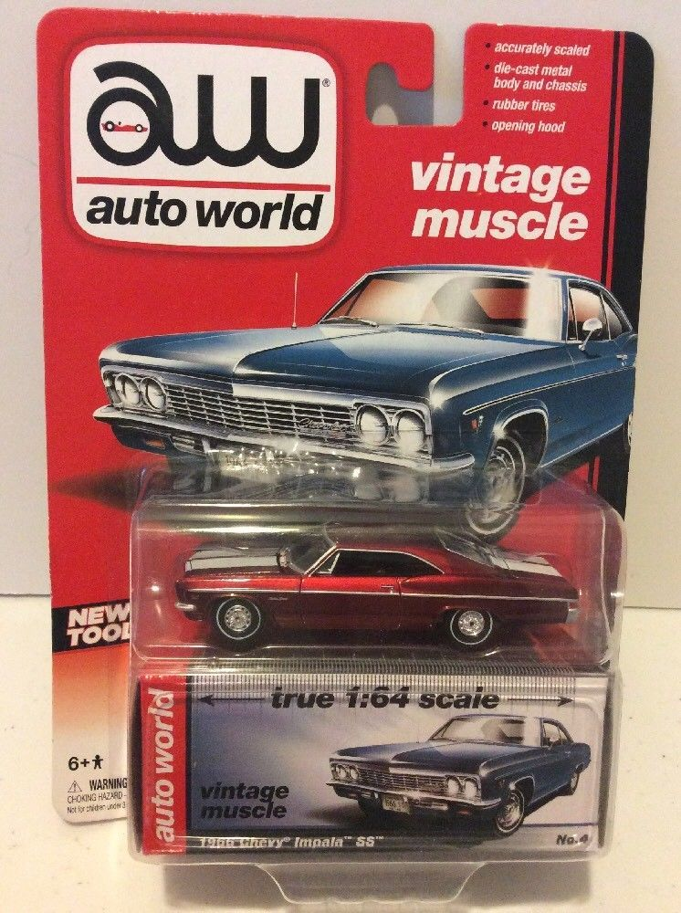 Auto World 1966 Chevy Impala SS Chase Car #AutoWorld #Ford | Auto ...