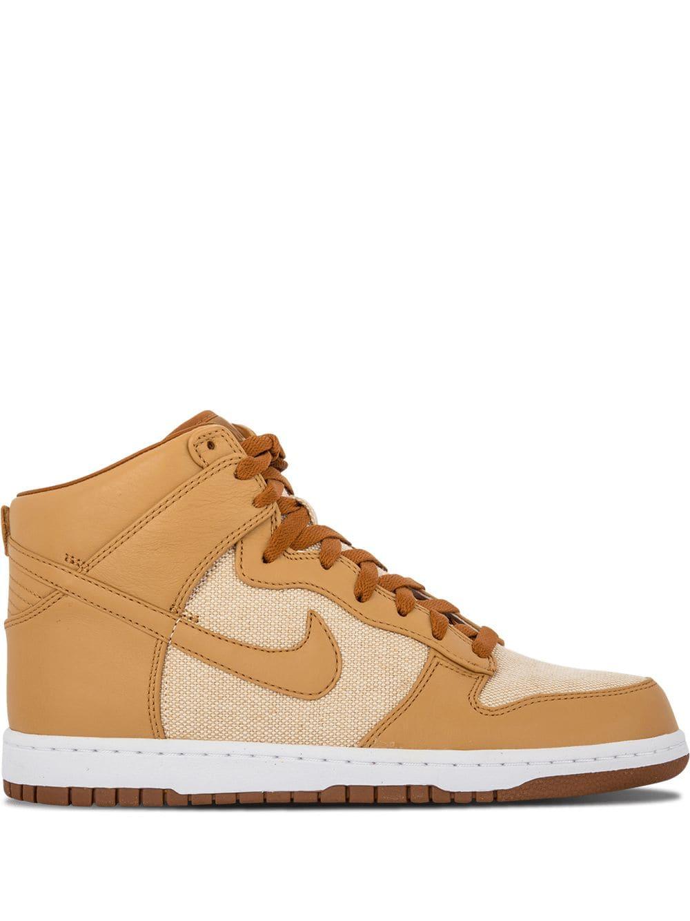the best attitude 9da0e 45d36 Nike Dunk PRM HI SP sneakers - Natural Underbrush-Acorn