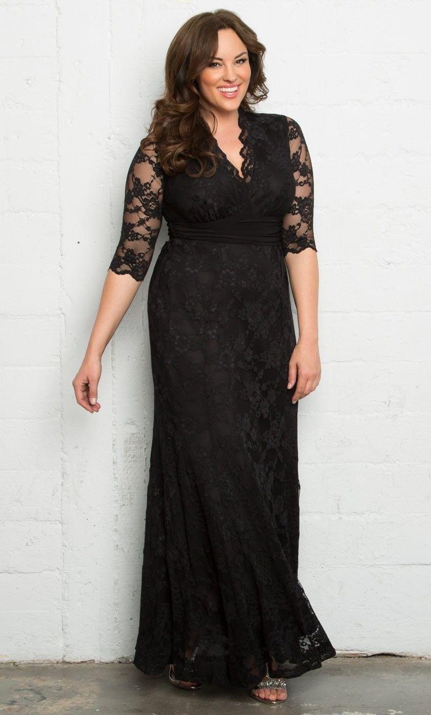 Evening Blouses Plus Size Black Dressy