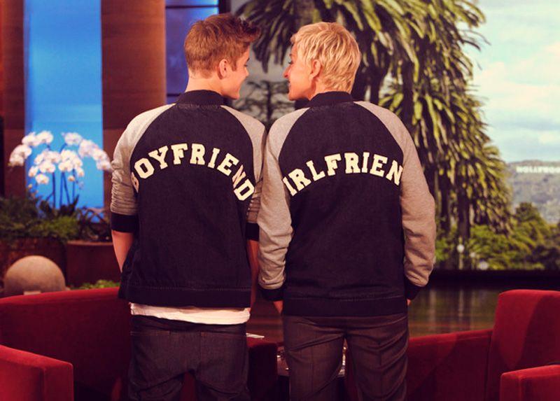 Justin Bieber on Ellen I saw this one!