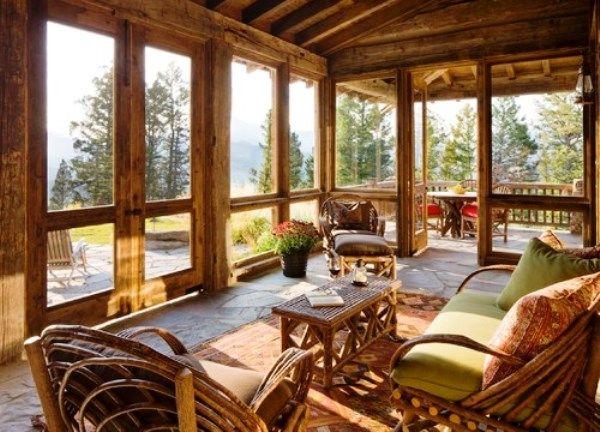 Rustic Sunrooms Ideas Sunroom Rustic Decor In 2019 Rustic