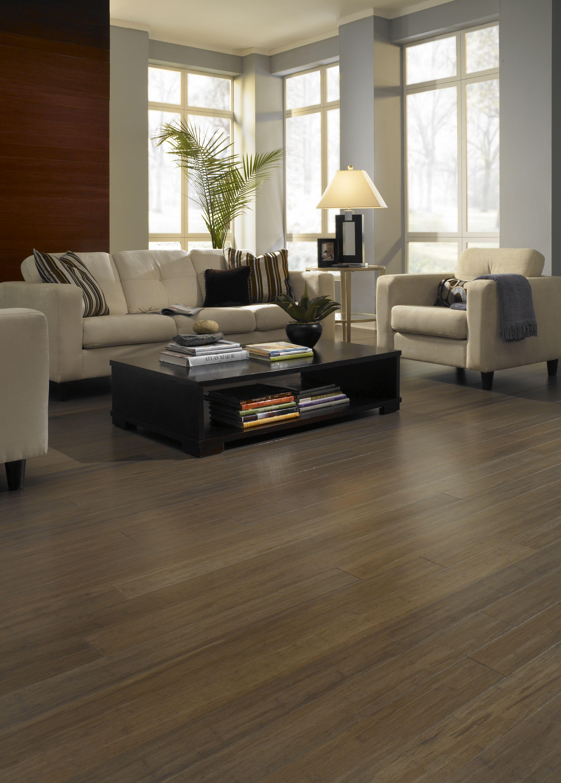 Natural bamboo flooring hardwood floor strand woven for Sustainable bamboo flooring