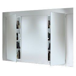 Broan Nutone 664 Illusion Recessed Medicine Cabinet By 136 15 From The Manufacturer To Create Earance Of A Continuous Wall Mirror