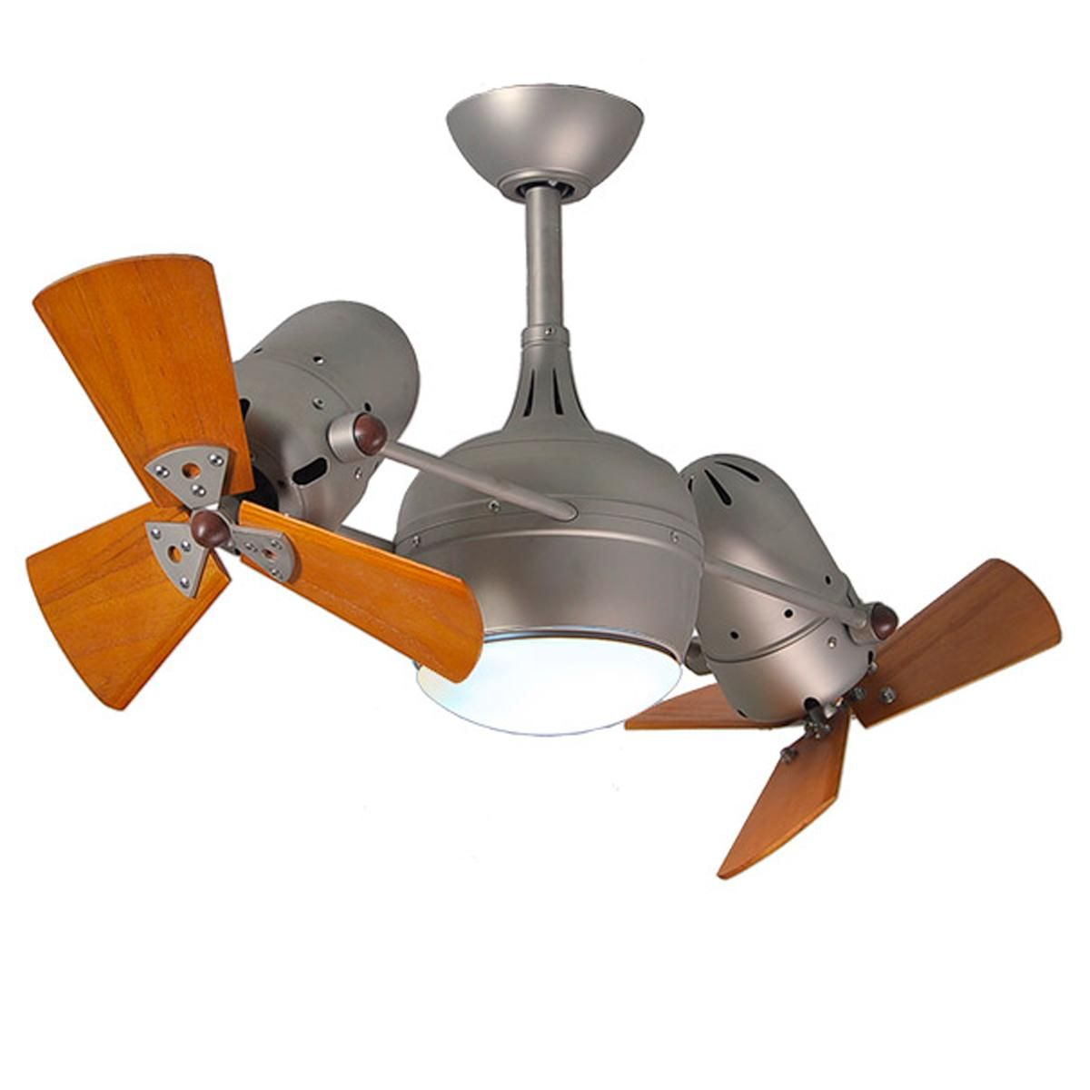 40 Dual Head Wood Blade Ceiling Fan Dual Ceiling Fan Ceiling Fan Ceiling Fan With Light