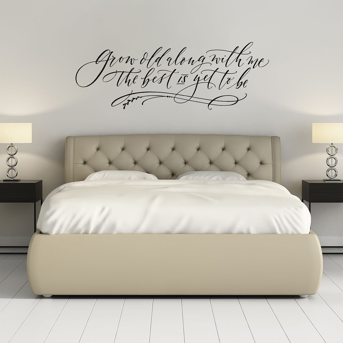 grow old along with me wall decals for bedroom love on wall stickers for bedroom id=18985