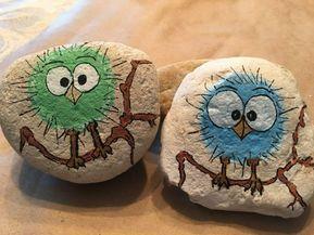 ▷ 1001 + Ideas de piedras pintadas para niños y adultos