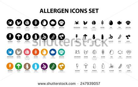 Allergen Icons | gluten free | Stock photos, Free images, Royalty