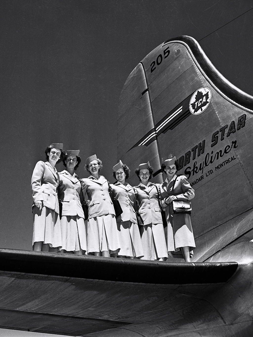 greeneyes55:  Photo: Air Canada 1947