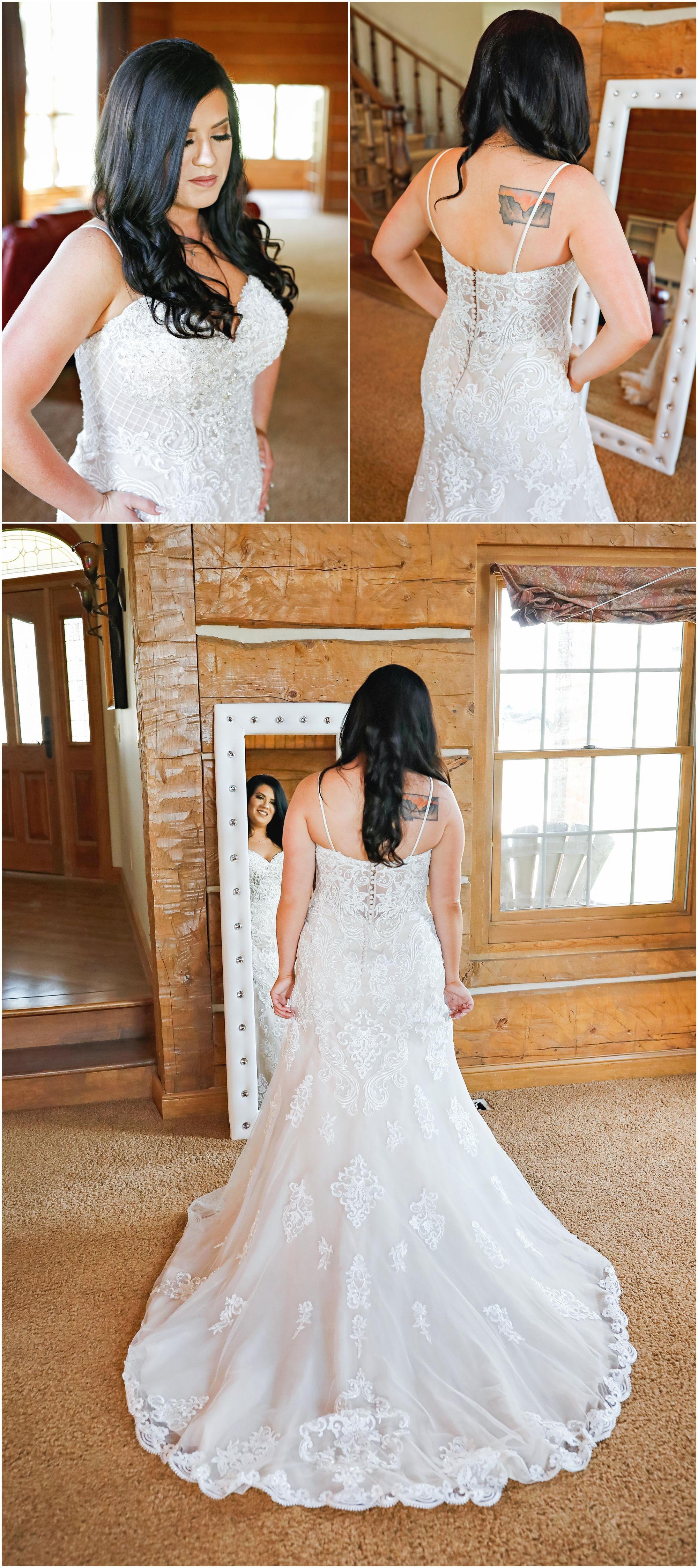 Mandy + Charlie White lace wedding dress, Wedding