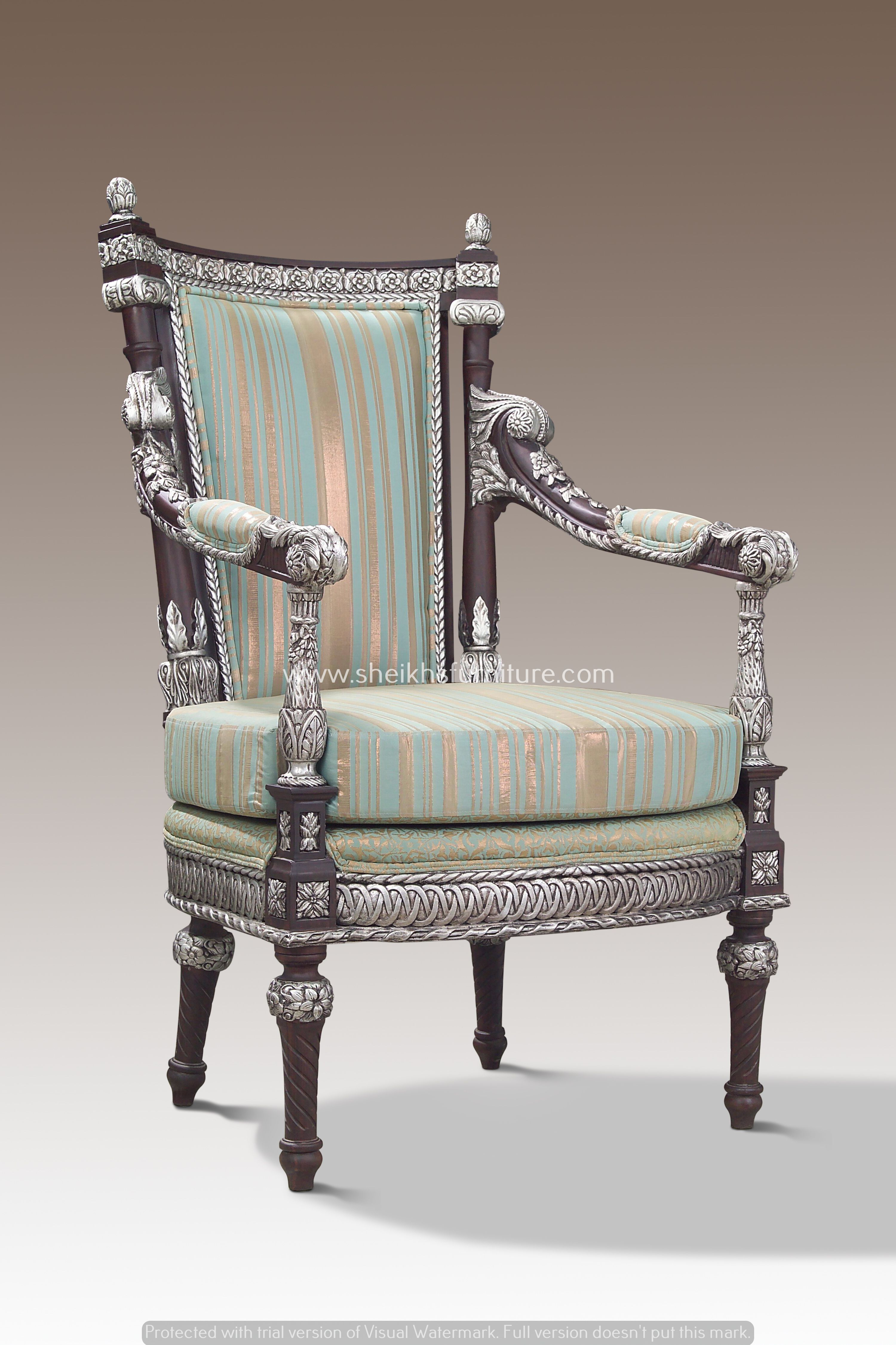 This is our solid rosewood classic bedroom chair set This chair
