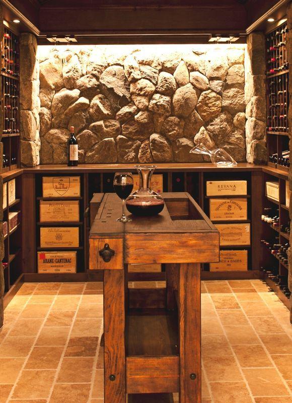 Winecellar Or Underground Bar Home Wine Cellars Wine Cellar