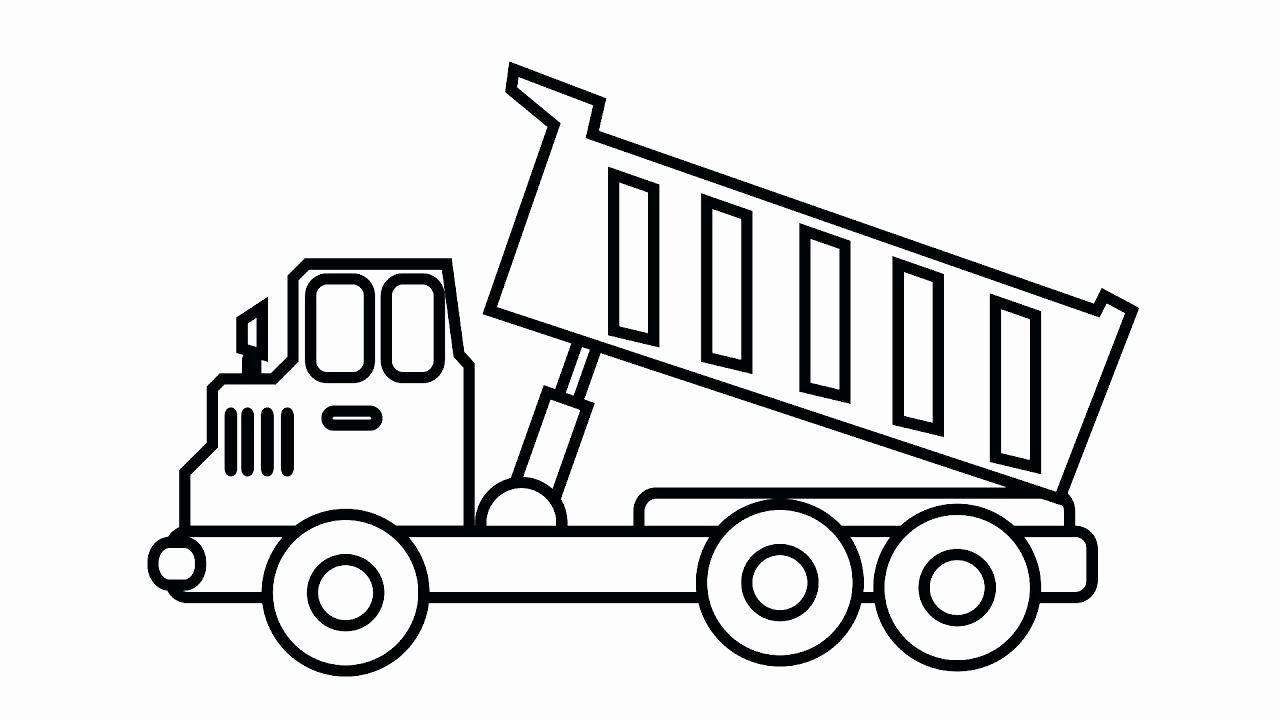 Garbage Truck Coloring Book New Coloring Pages Of Trucks