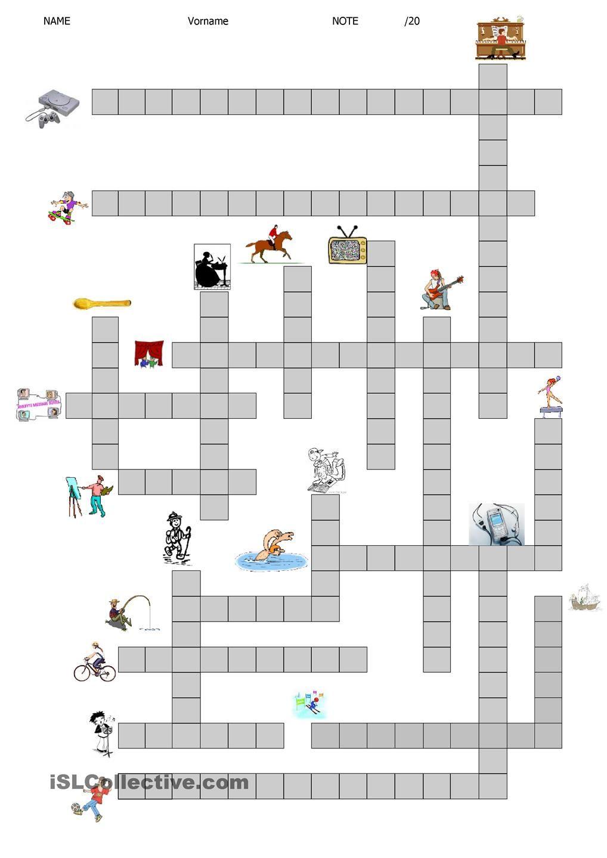 Deutsch Kreuzworträtsel
