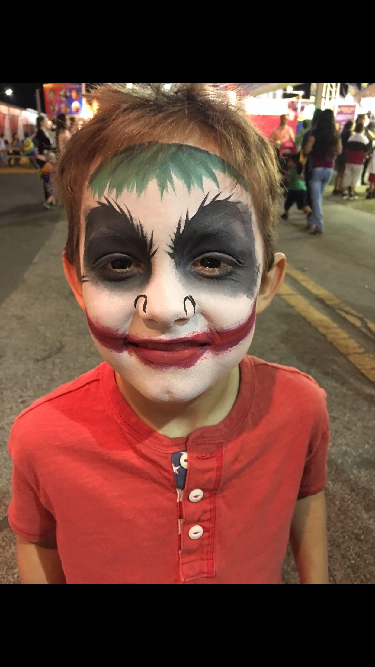Face Paint Ideas Joker