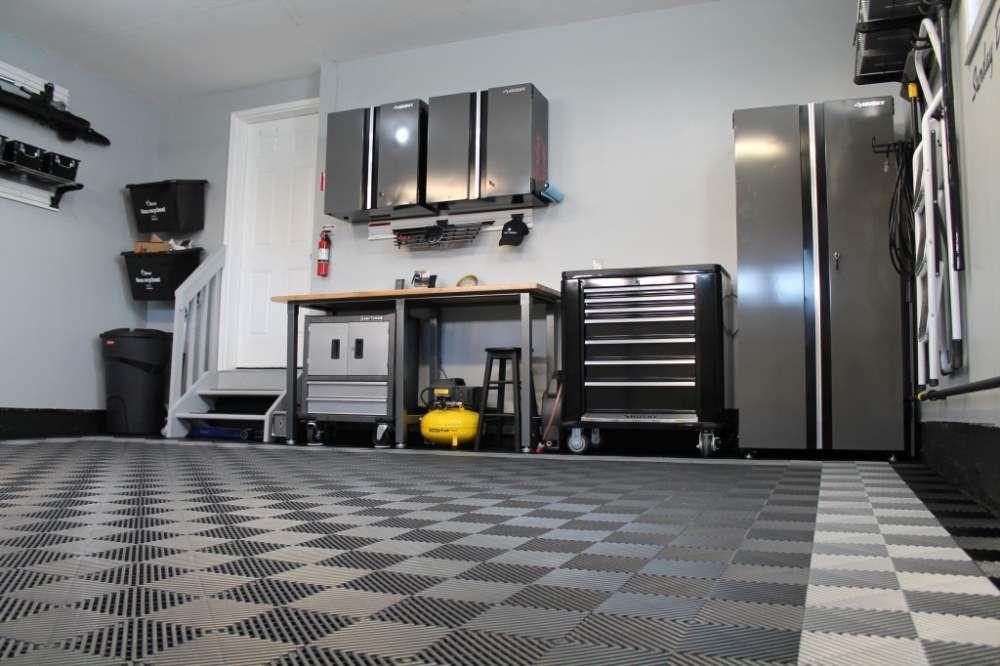 Garage floor tiles american made truelock hd racedeck