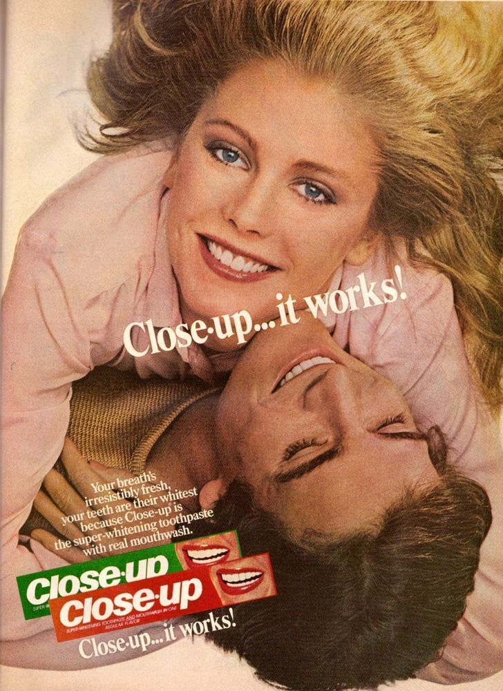 Details About Listerine Toothpaste Ad: Gee Whiz, Am I