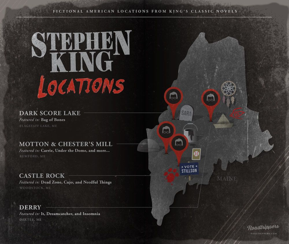 Maine Macabre The Real Life Locations Of Stephen King Novels