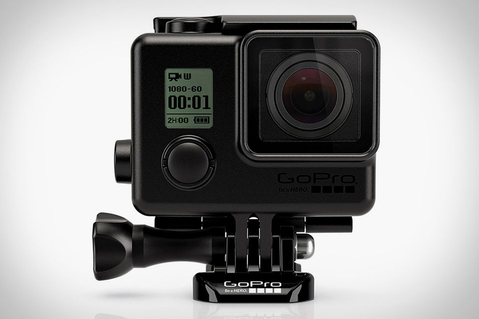 The GoPro Blackout Housing keeps a low profile thanks to its matte black finish.