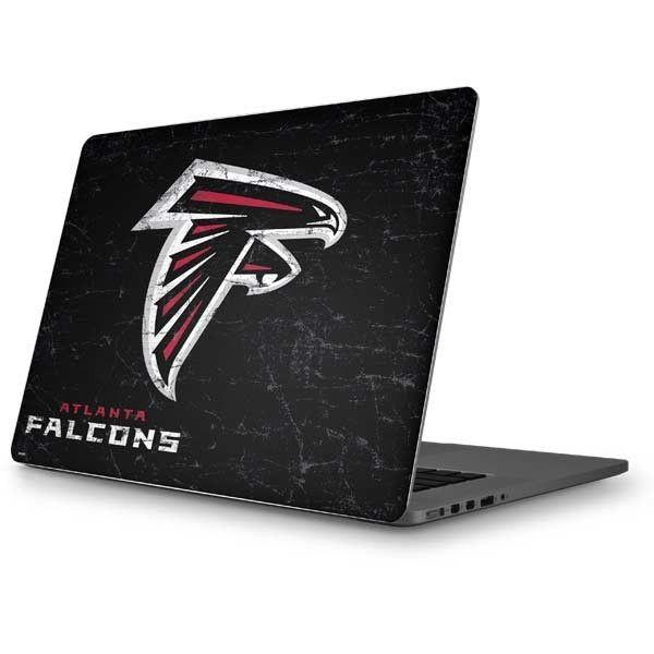 The Atlanta Falcons Distressed Macbook Skin