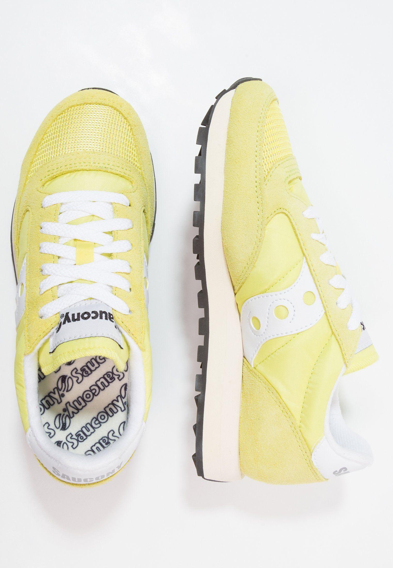 JAZZ ORIGINAL VINTAGE - Zapatillas - yellow white  d5dfb153a4fc