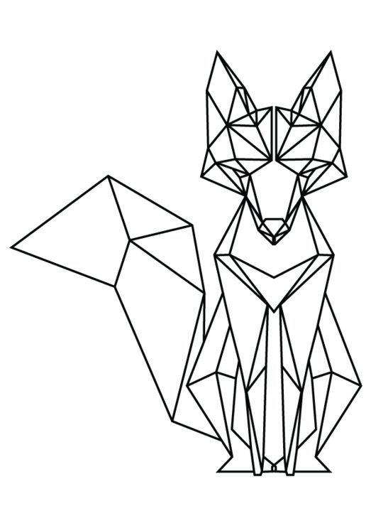 tatto ideas 2017 geometric fox google search fashionviral zorros dibujo dibujo. Black Bedroom Furniture Sets. Home Design Ideas