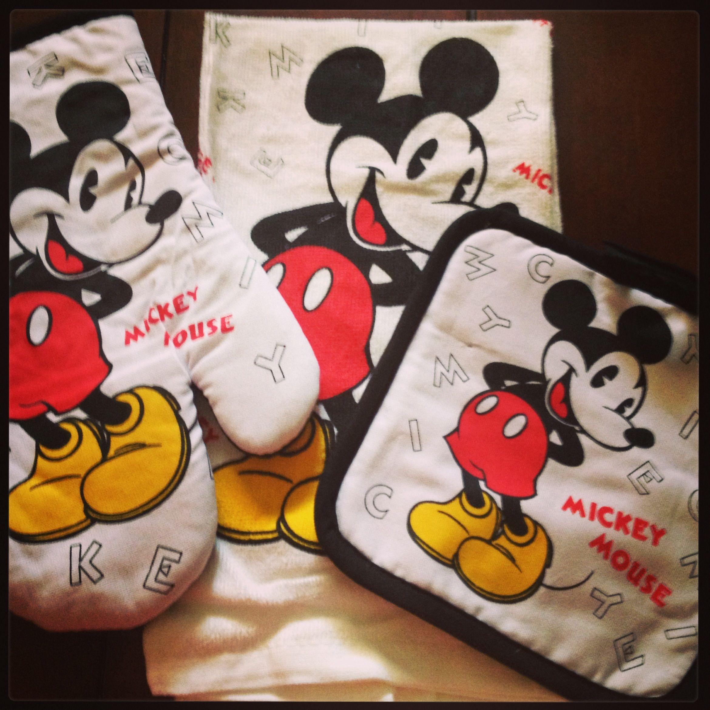 Hot Pads Disney Kitchen Mickey Mouse Pot Holders