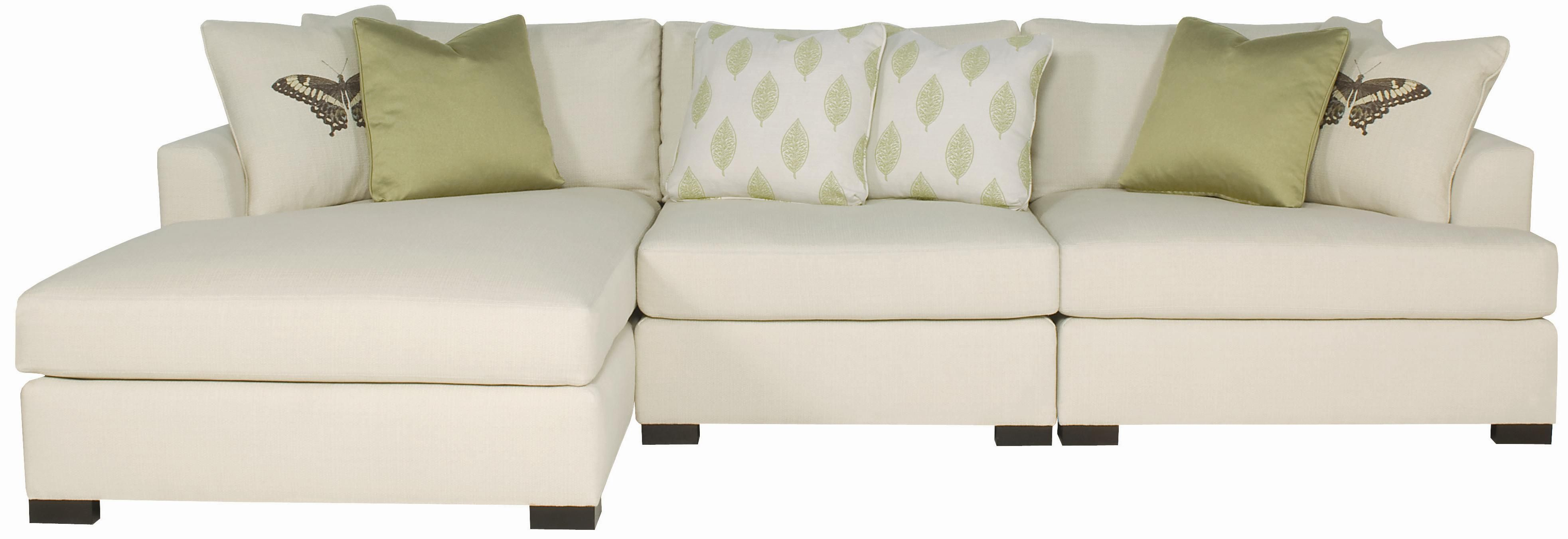 Adriana Sectional Sofa With Chaise Lounger By Bernhardt