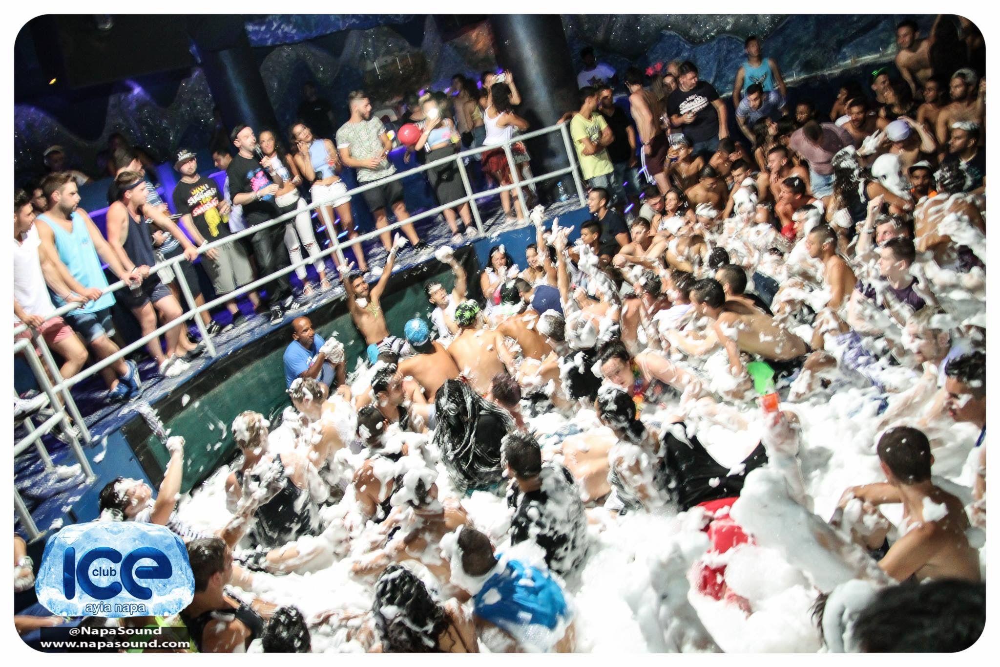 Foam Party Club Ice Ayia Napa Foam Party Easy Rider Ayia Napa