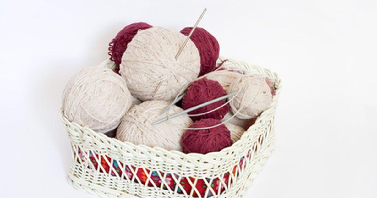 Cómo tejer una bufanda con punto de semilla | Pinterest | Patrones ...