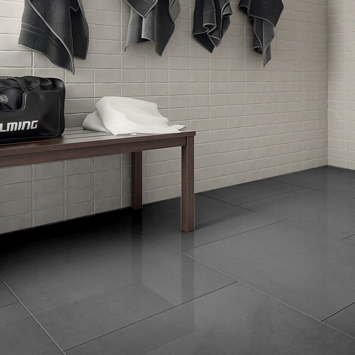 Polished Kitchen Floor Tiles Rooms With Gray Tile Floors Lounge Dark Grey Porcelain Floor