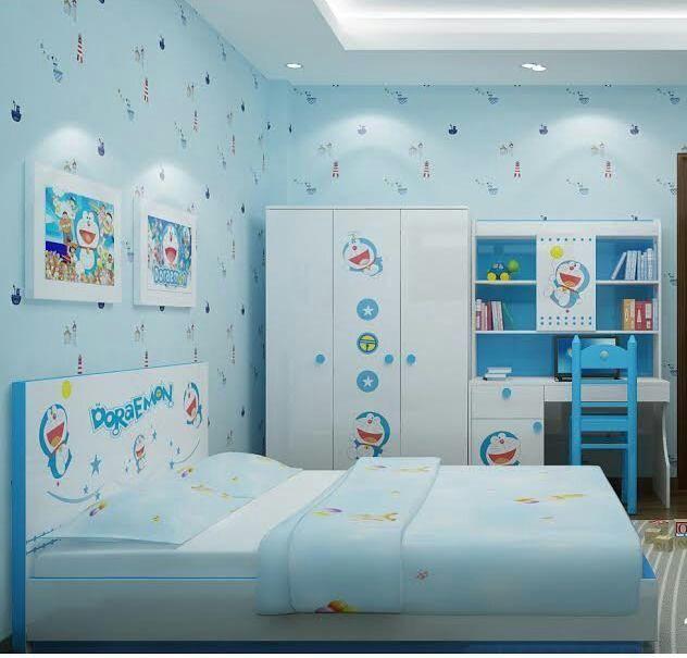 Desain Kamar Tidur Serba Doraemon - Content