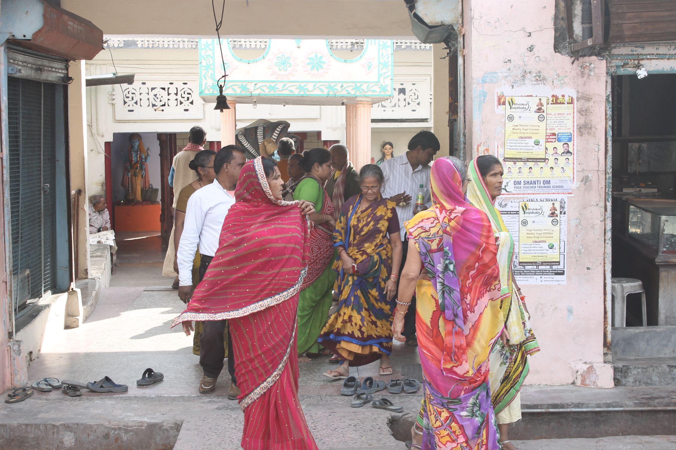 Mujeres de Rishikesh