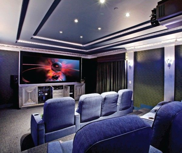 Home Theater Design Ideas Home Theater Masters: Movie & Game Rooms