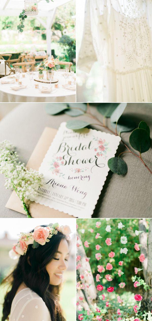 whimsical garden inspired bridal shower style me pretty