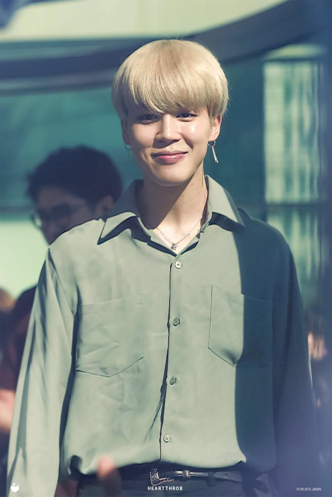 170921 BTS On The Way To Culto Show Jimin