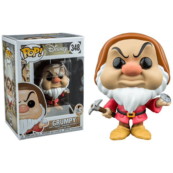 Disney Snow White and the Seven Dwarfs Grumpy with