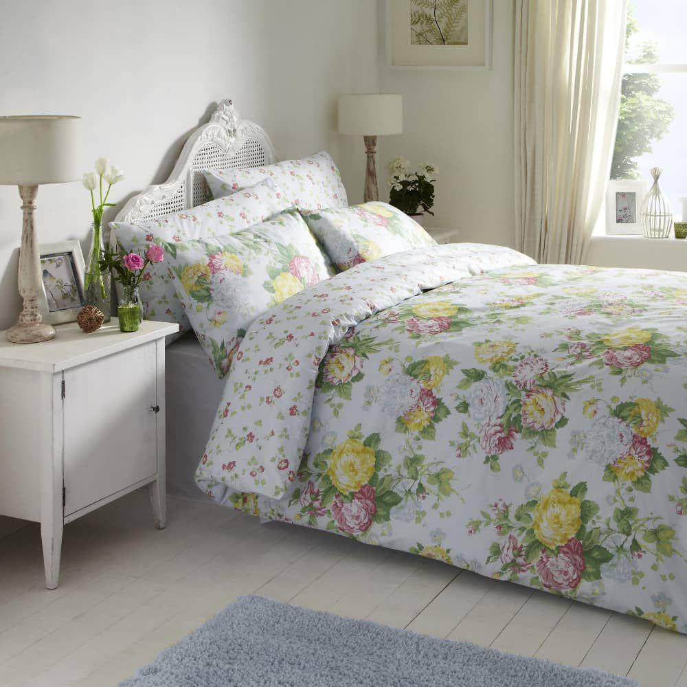 Vantona Eloise Floral JustLinen Bed sets for sale