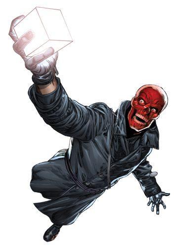 Red Skull Is On Applesoranges Supereroi Satira Politica Teschi