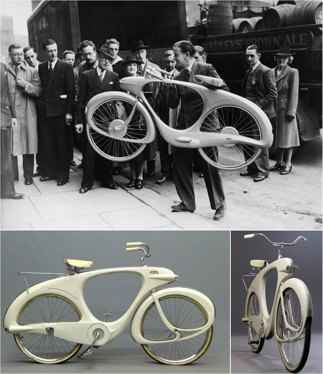 This Was The Bicycle Of The Future In 1946 Bicycling In 2020