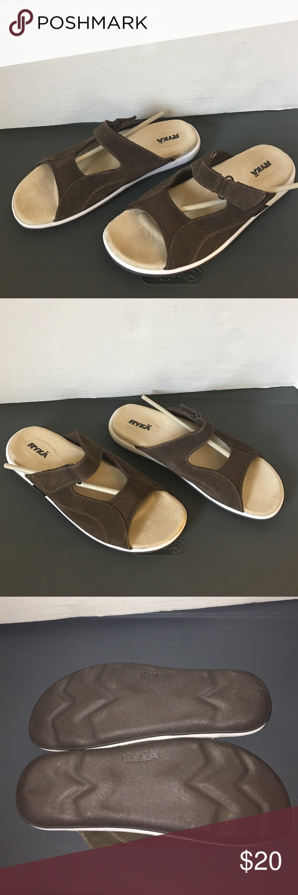 Ryka sandals shoes - Boardwalk Summer Sandals Pre Owned In Great Condition Ryka Sandals Size Smoke And Pet Free House Ryka Shoes Sandals
