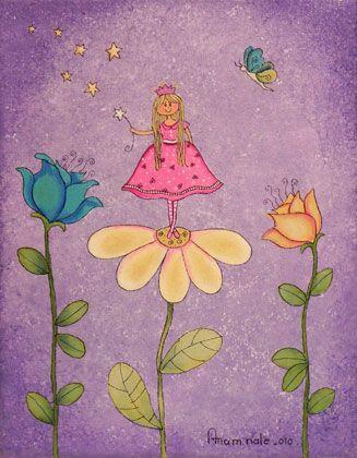 Ana maria nale pintura naif e infantil cuadros - Dibujos infantiles originales ...