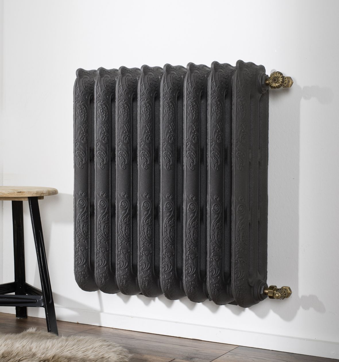 radiateur en fonte mural sans pied collection belle. Black Bedroom Furniture Sets. Home Design Ideas