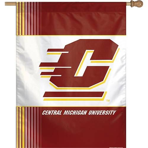 Central Michigan University Chippewas Football Banner Central