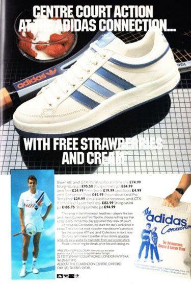 Adidas Lendl pro adidas anuncio mejores zapatos Pinterest adidas pro 74876f